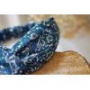 Bandeau Bastien Fleuri Bleu Marine