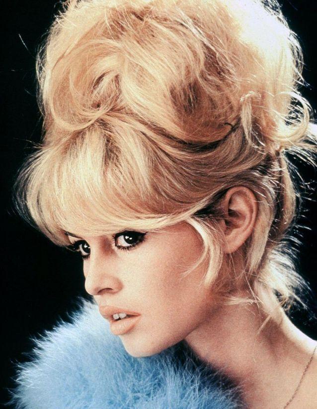 photo Brigitte Bardot chignon choucroute